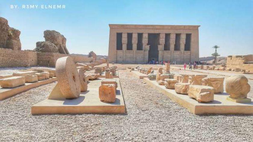 معبد دندرة في دندرة
