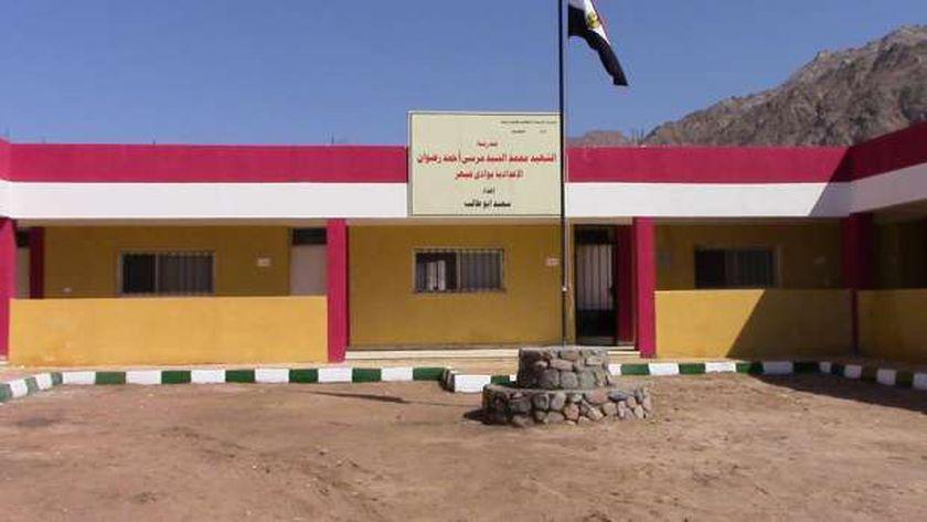 احدى مدارس شمال سيناء