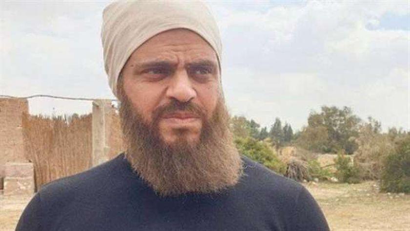 الفنان طارق صبري في دور الإرهابي «خيرت السبكي»