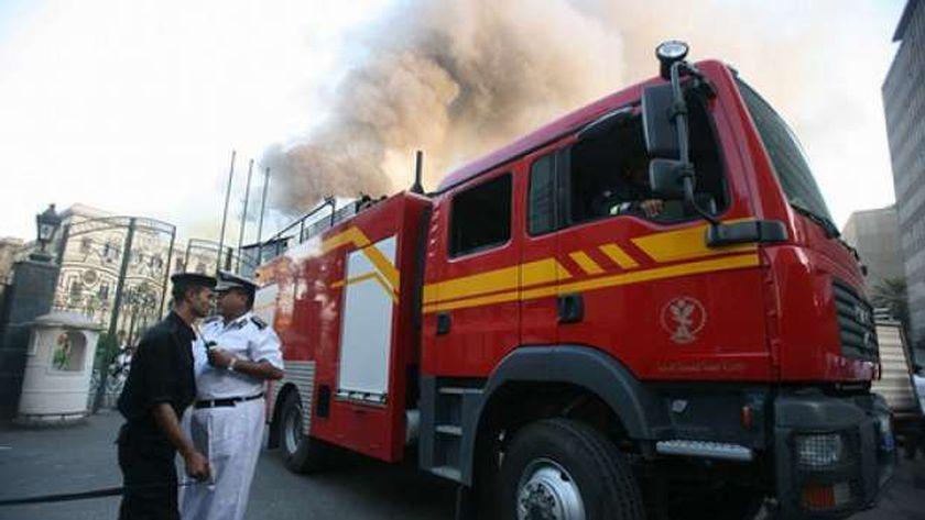 صورة مصرع مسن كفيف في حريق منزل بسوهاج – المحافظات