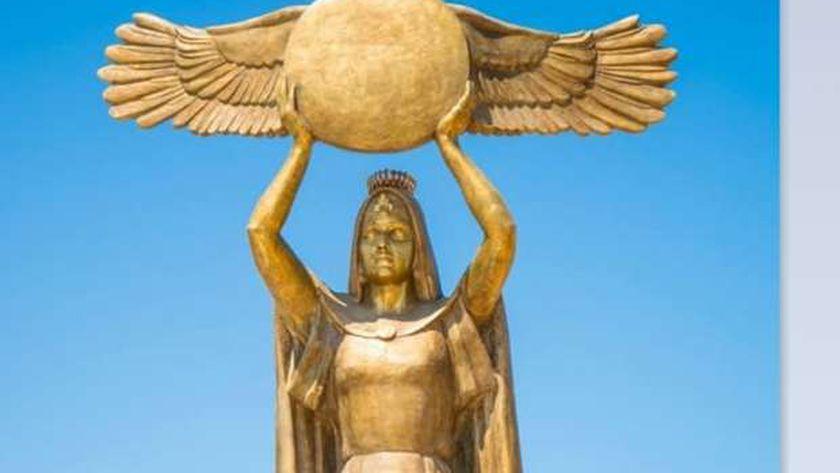 تمثال مصر أم الدنيا- بورسعيد