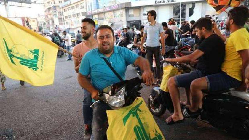 عناصر حزب الله في لبنان