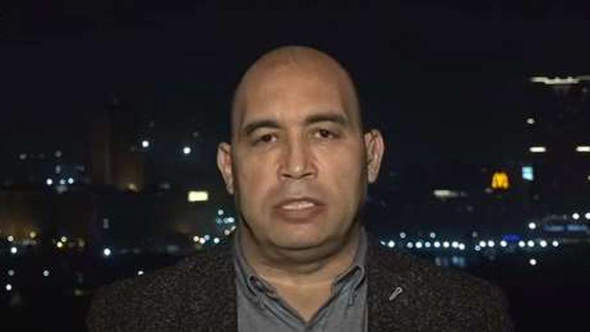 الكاتب الصحفي أحمد الخطيب رئيس التحرير التنفيذي لجريدة «الوطن»