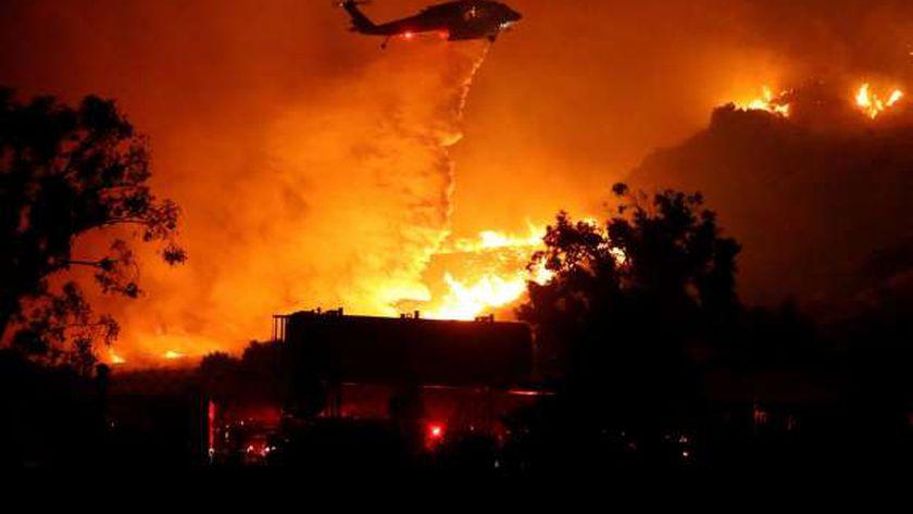 حريق غابات أمريكا
