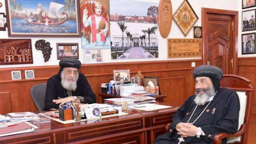صور.. البابا يعقد لقاءات مع مطرانيّن و3 أساقفة لمتابعة الخدمة بالكنيسة