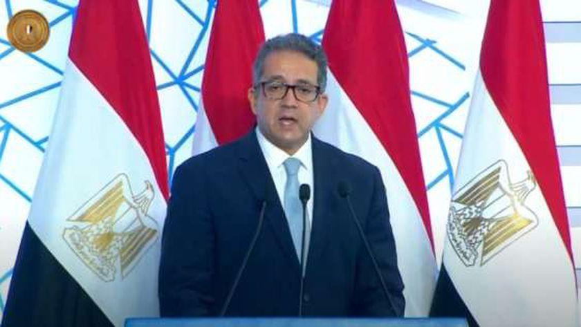 د. خالد العناني وزير السياحة والآثار