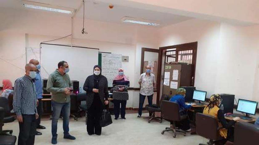 بدء اختبارات القبول لمدرسة المتفوقين في بني سويف