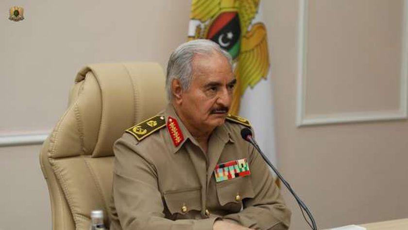 القائد العام للقوات المسلحة العربية الليبية المشير خليفة حفتر