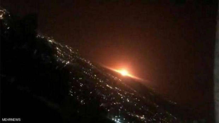 انفجار طهران