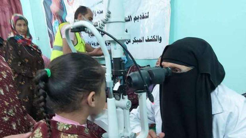 الكشف والعلاج المجاني لـ309 مواطنين بقرية بسفا جنوب بني سويف