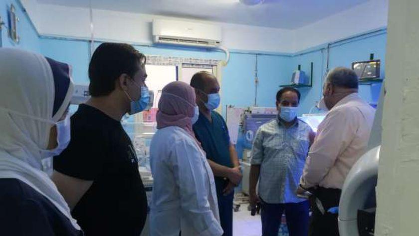 وكيل الصحة بالغربية:انحسار الاصابة بكورونا وخروج 23مصاب لتعافيهم