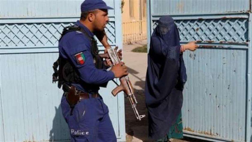 سيدة أفغانية في العاصمة كابول