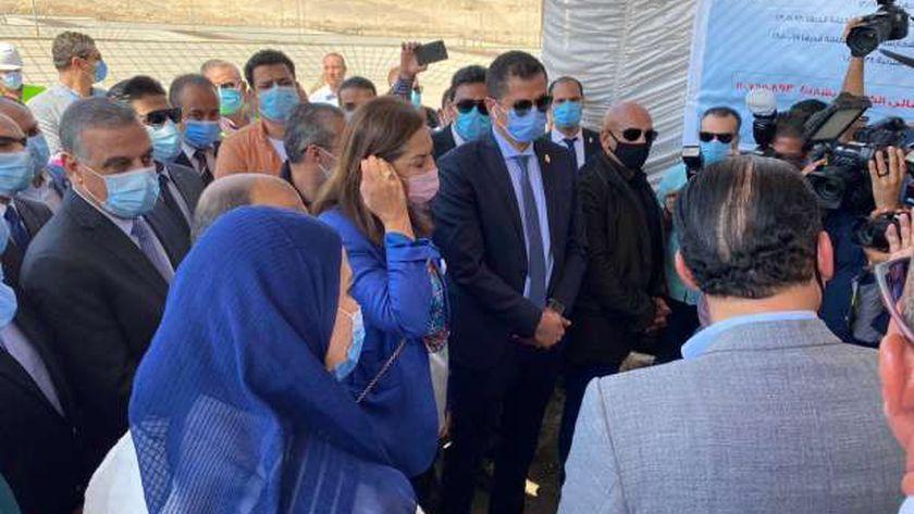 بحضور 4 وزراء وشخصيات عامة.. افتتاح محطة المعالجة الثلاثية في سوهاج