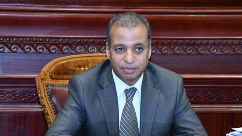 المستشار محمود إسماعيل الأمين العام لمجلس الشيوخ