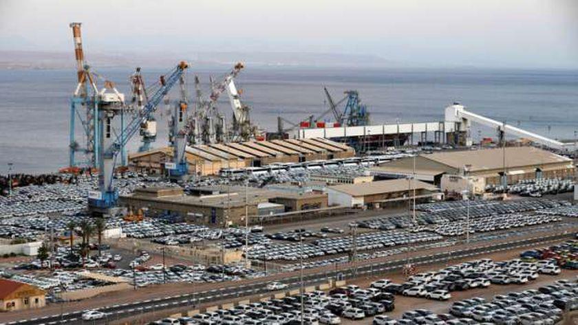 ميناء إيلات في إسرائيل