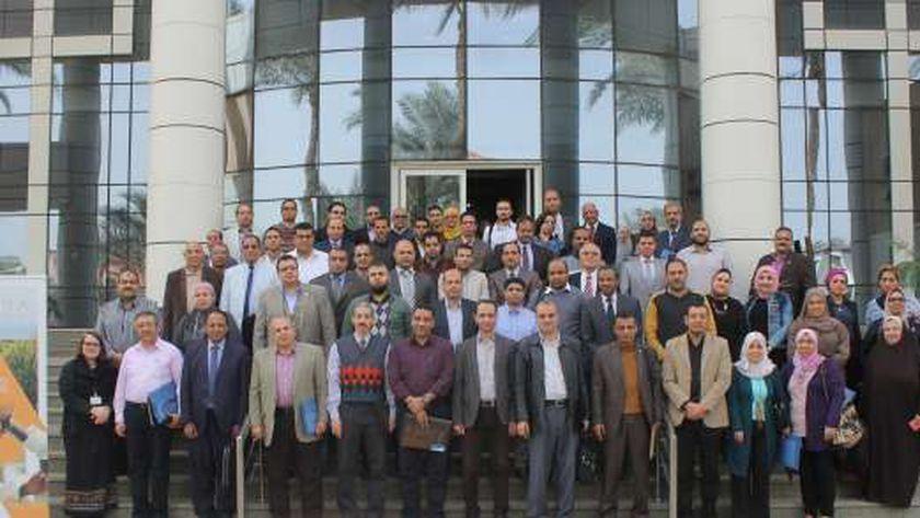 صورة للمشاركين فى الورشة