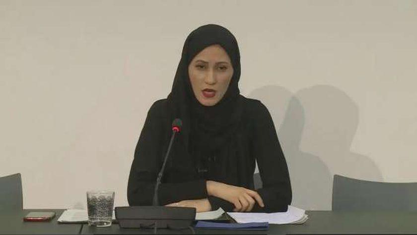 زوجة الشيخ طلال آل ثاني أسماء عريان