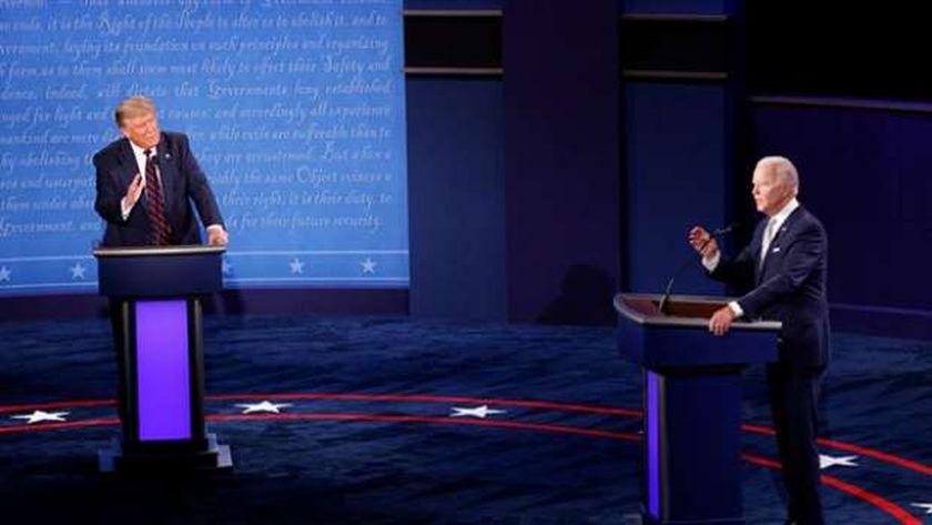 مناظرة ترامب وبايدن