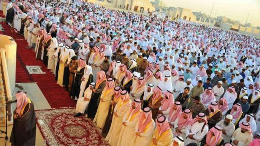 صورة أرشيفية - صلاة العيد في السعودية