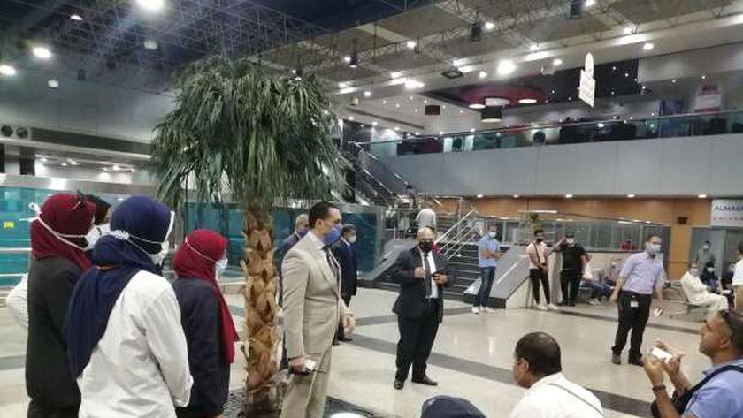 مطار القاهرة الدولي يستقبل اليوم 15380 مسافر على متن 147 رحلة لمختلف دول العالم