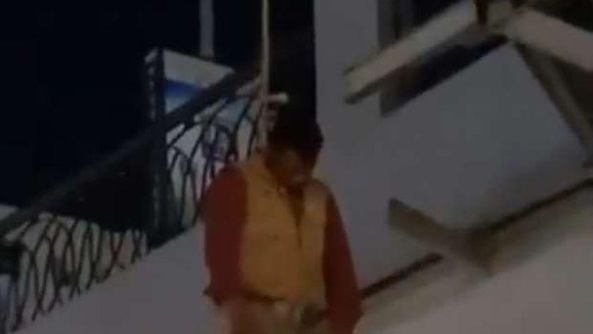 شاب يحاول الانتحار شنقاً أسفل كوبري سيدي جابر الإسكندرية