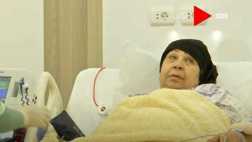 صورة فاطمة كشري: استنجدت بالرئيس السيسي من خلال جريدة «الوطن» (فيديو) – فن وثقافة