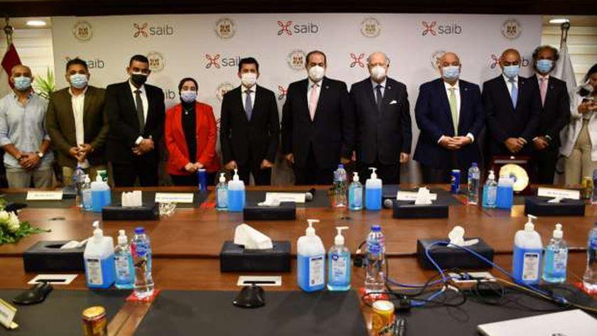 بنك saib يدعم المشروعات الرياضية