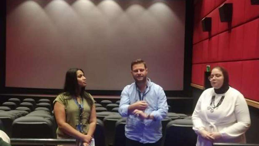 المخرج الألباني جونيد جورج في مهرجان الإسكندرية السينمائي