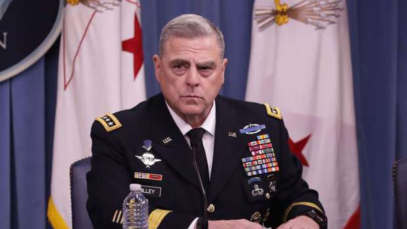 رئيس هيئة الأركان المشتركة للقوات المسلحة الأمريكية الجنرال مارك ميلي
