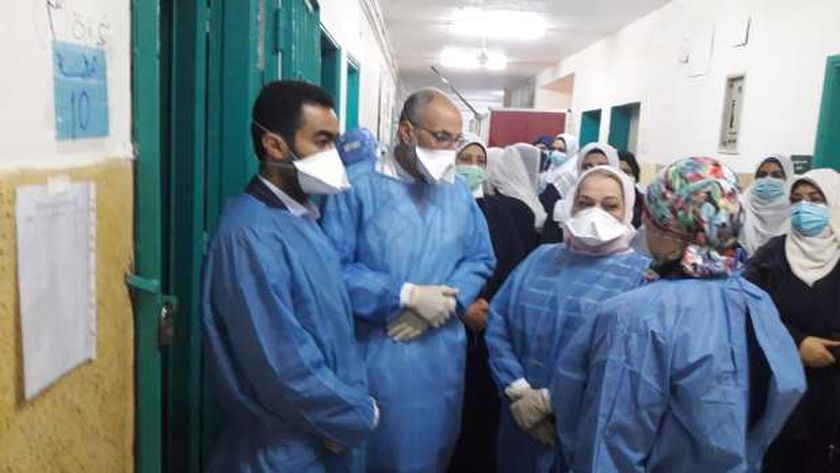 """تشكيل لجان متابعة لتكثيف المرور على المستشفيات بـ""""صحة الغربية"""""""