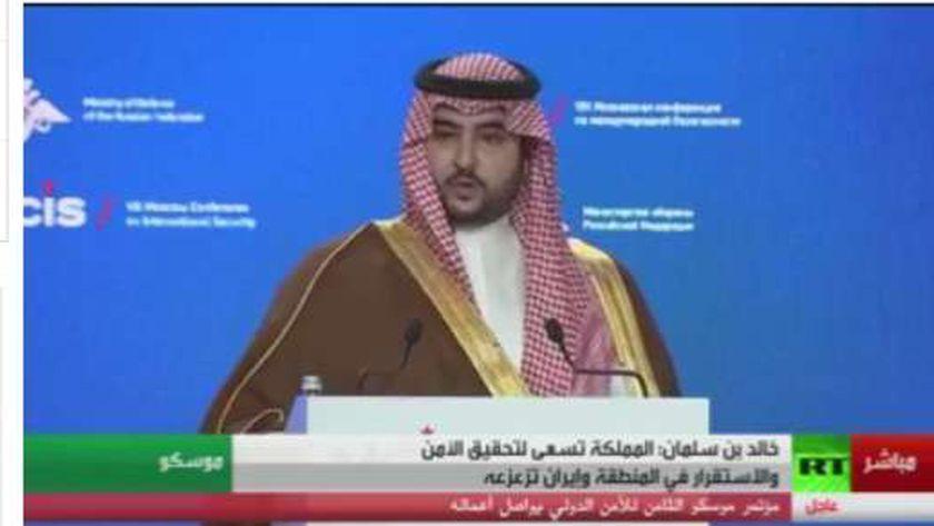 نائب وزير الدفاع السعودي - خالد بن سلمان