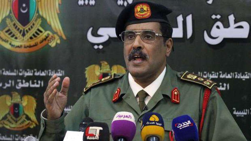 أحمد المسماري الناطق باسم الجيش الوطني الليبي