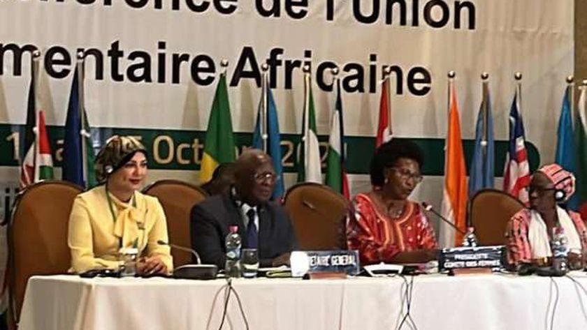 لجنة المرأة بالاتحاد البرلمانى الإفريقي