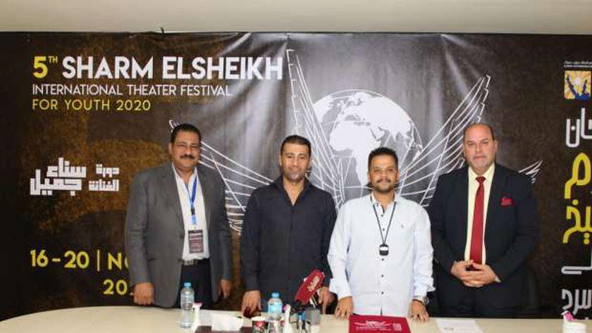 شرم الشيخ الدولي للمسرح الشبابي يوقع بروتوكول تعاون مع مهرجان مونو أكت