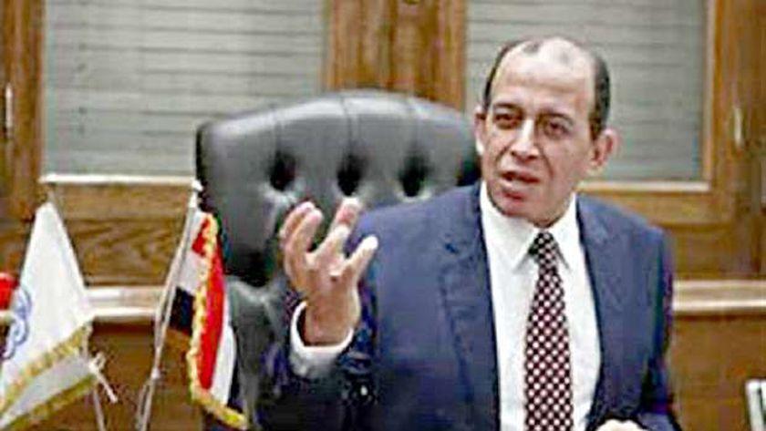 المستشار محمد عبد المحسن رئيس نادي القضاة