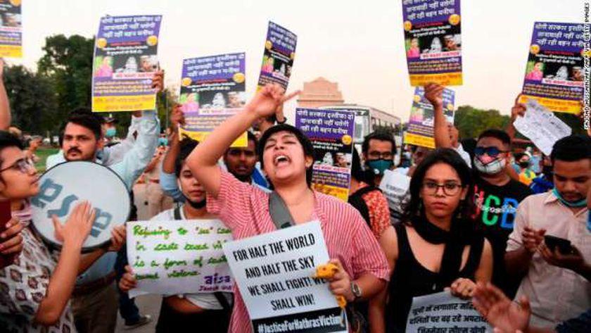 احتجاجات ضد الاغتصاب في الهند