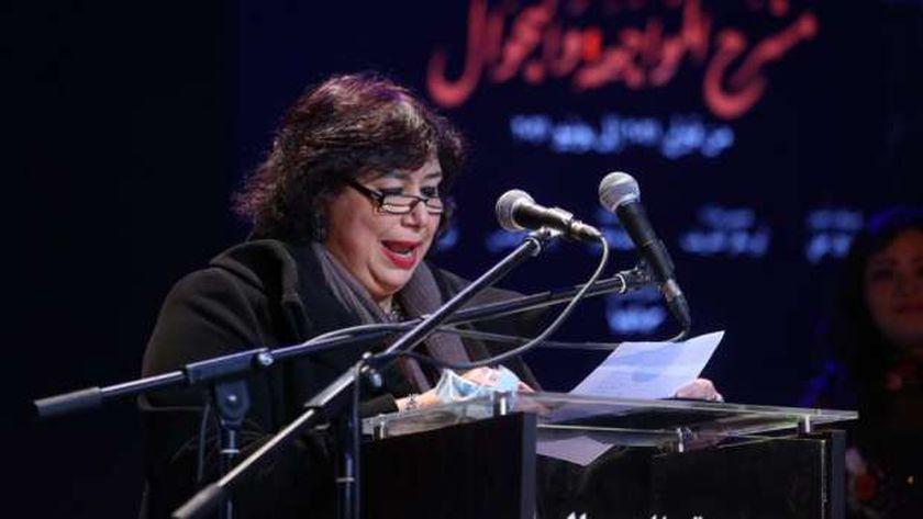 وزيرة الثقافة تكرم فريق مسرح «المواجهة والتجوال»: حلم تحول إلى حقيقة