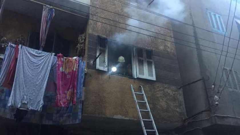 حريق شقة في الدقهلية - أرشيفية