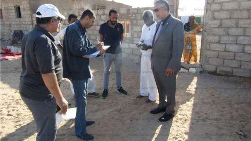 لجنة حصر المنازل البدوية