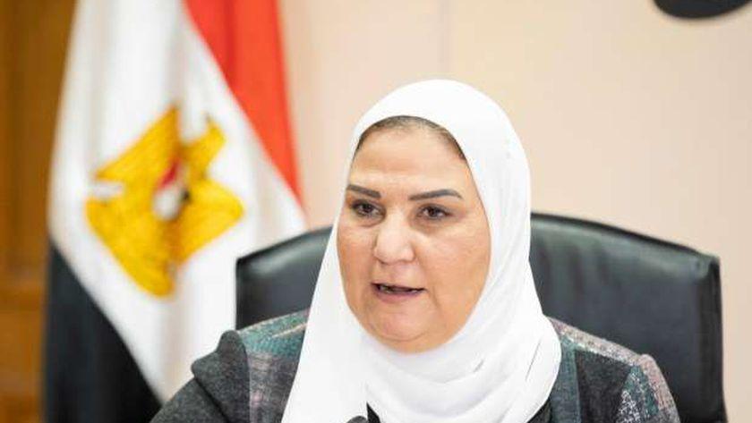 صورة وزيرة التضامن توضح أسباب التحفظ على 413 جمعية: تنتمي لجماعات إرهابية – مصر