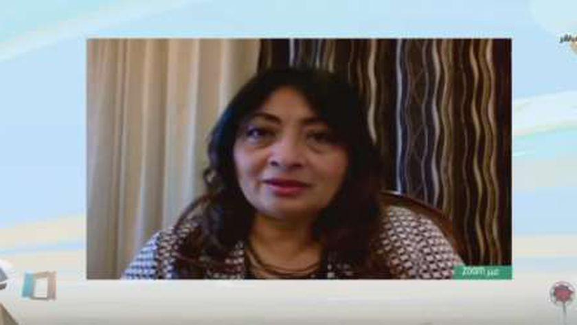 الدكتورة ديزيريه لبيب مدير مشروع كفاية 2 بوزارة التضامن الاجتماعي