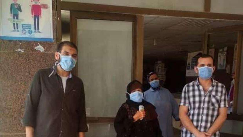 جانب من حالات التعافي داخل مستشفى الصدر ببني سويف