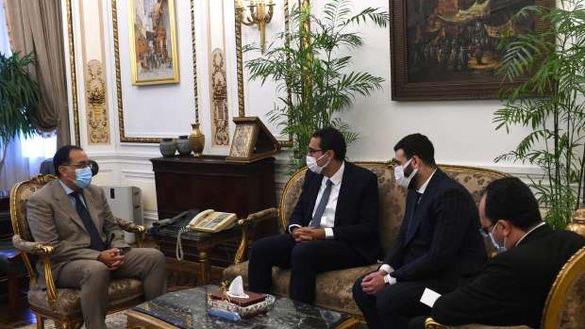 تفاصيل لقاء «مدبولي» مع رئيس «سويفل»: أبوابنا مفتوحة لدعم الشباب