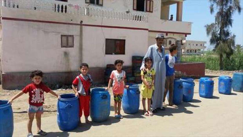 انقطاع المياه.. أزمة مستمرة