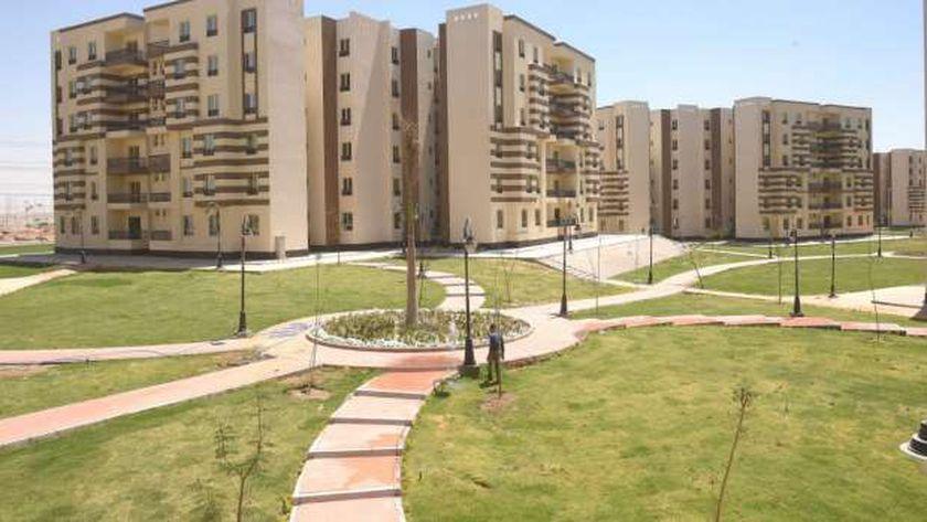مشروع السكن البديل بمدينة حدائق أكتوبر .. صورة أرشيفية