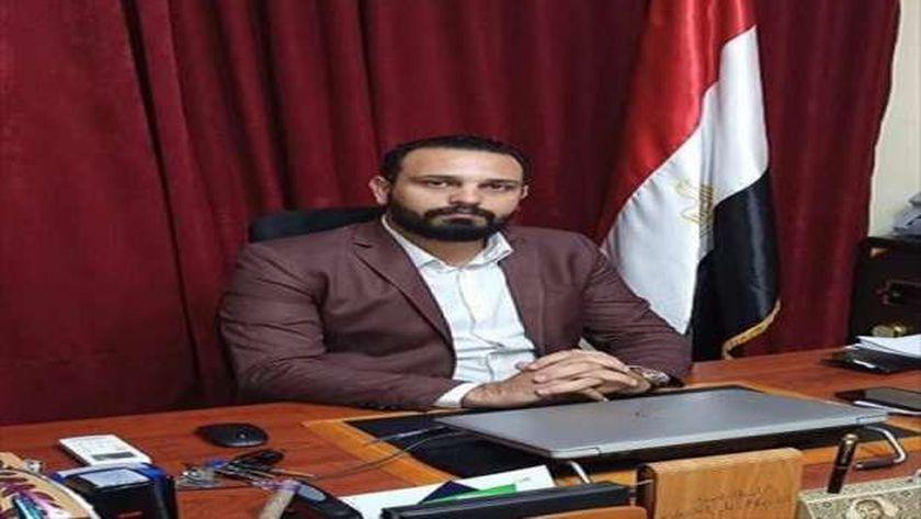 محمود وحيد مدير مؤسسة معانا لإنقاذ انسان