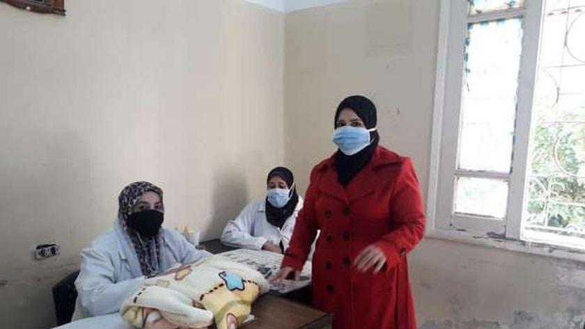 مبادرة 100 مليون صحة بكفر الشيخ