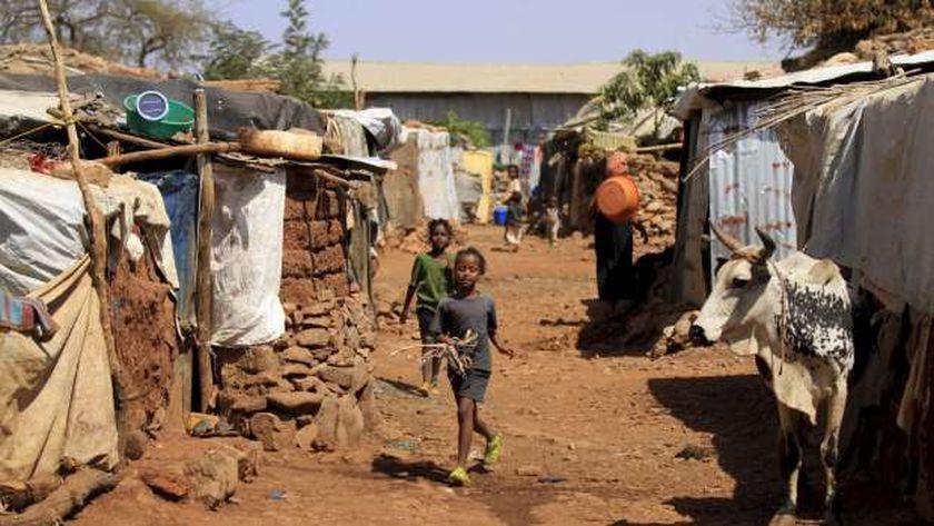 لاجئين أثيوبيين