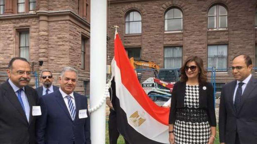 """وزيرة الهجرة تعلن رعاية رئيس مجلس الوزراء لـ""""شهر التراث المصري"""" بكندا"""