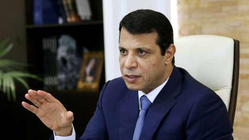 القيادي الفلسطيني وزعيم تيار الإصلاح في حركة «فتح» محمد دحلان